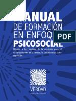 Manual Enfoque Psicosocial Comision Verdad