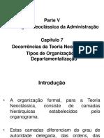 Abordagem Neoclássica da Administração-Decorrências da Teoria Neoclássica da Administração (1).ppt