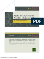 Sesion2 DreamweaverCS6 Plantillas y Hojas de Estilos