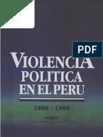 Violencia Politica en El Peru I