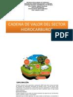 CADENA DE VALORES DE LOS HIDROCARBUROS