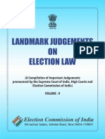 Landmark Judgements on Election Law Final