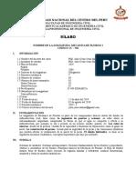 Silabo Mec. Fluidos I 2019-2