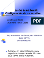 Configuracion de un servidor