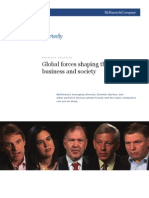 Global Forces Shaping the Future of Business and Society - McKinsey 2010