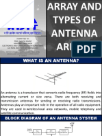 Array and Types of Antenna Arrays