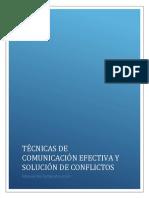 Manual Técnicas de Comunicación Efectiva y Resolución de Conflictos