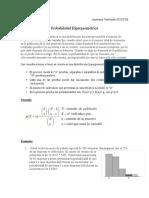 Hipergeométrica Probabilidades