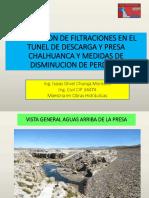 Presentación Ichm Abril 2016 Filtr Presa Chalhuanca Cip
