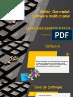 Vision Gerencial Del Software