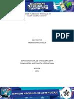 Fase Planeacion Evidencia 1 Guía 3 TALLER GLOBAL COUNTRY