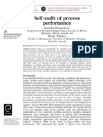 Self‐audit of process performance pdf.pdf