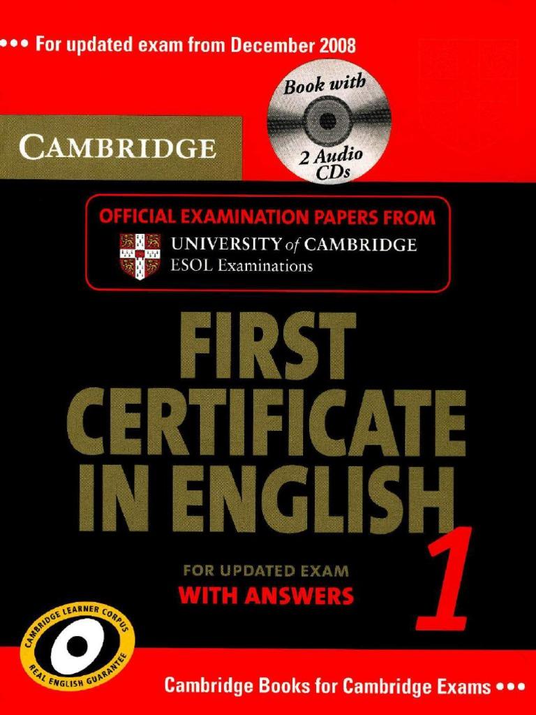 Cambridge Papers FCE 8 PDF   PDF