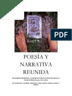 POESÍA Y NARRATIVA REUNIDA DE ENDER RODRIGUEZ
