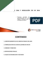 PRESENTACIÓN APROVECHAMIENTO CRA 720 2015