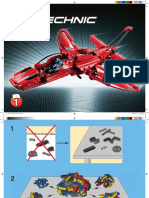 Plans 1 Technic Jet Planer 9394