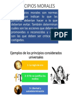 Principios Morales