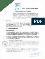 Medida Cautelar Pedro Olaechea TC