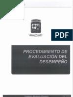 Procedimiento de Evaluación de Desempeño-1