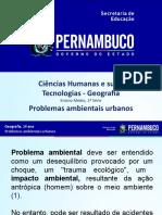 Problemas Ambientais Urbanos_PERNAMBUCO