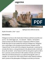 About Pythagoras | Pythagoras Foundation