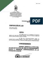 Fiscal Pérez formaliza denuncia contra José Chlimper