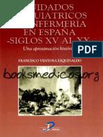 Cuidados Psiquiátricos Enfermería en España