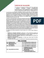 Cuentas de Valuacion Corregido