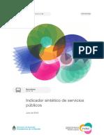 Indicador sintético de servicios públicos 2019