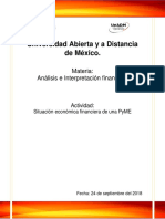 análisis e interpretación financiera actividad 1