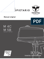Manual de Usuario Tohatsu M5B - 5HP