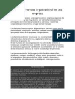 Conducta humana organizacional en una empresa.docx