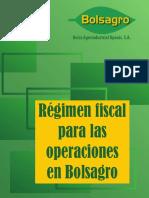 BOLSAGRO Regimen Fiscal