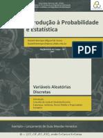 Notas de aula Probabilidade+-+Variáveis+Aleatórias+DIscretas