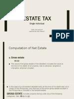 Estate Tax (Single) Report Copy