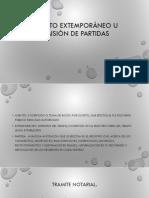 ASIENTO EXTEMPORÁNEO U OMISIÓN DE PARTIDAS.pptx