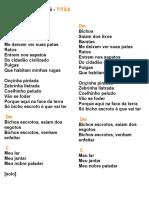 BICHOS ESCROTOS - TITÃS