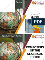 Composers of the Classical Period