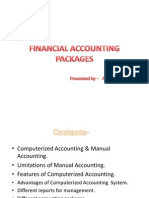 FINANCIAL ACCOUNTING PACKAGES