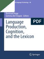 Language Production Cognition