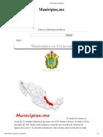 Municipios en Veracruz