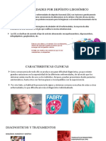 Enfermedades por depósito lisosómico (glucógeno)