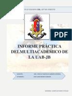 Informe de La Practica Gonzalo