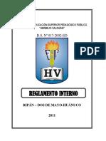 Reglamento Interno Del Isphv Impresion