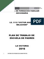 PLAN DE TRABAJO DE ESCUELA DE PADRES 2016.doc