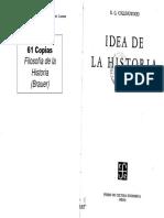 02043016 Collingwood - La Idea de La Historia - Epilegómenos