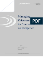 Managing VoIP Ccrd