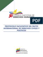 Protocolo Facultativo del Pacto Internacional de Derechos Civiles y Políticos