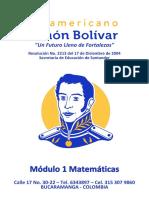 ISSIB006 Módulo 1 Matemáticas