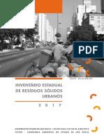 Inventario Estadual de Resìduos Sòlidos Urbanos
